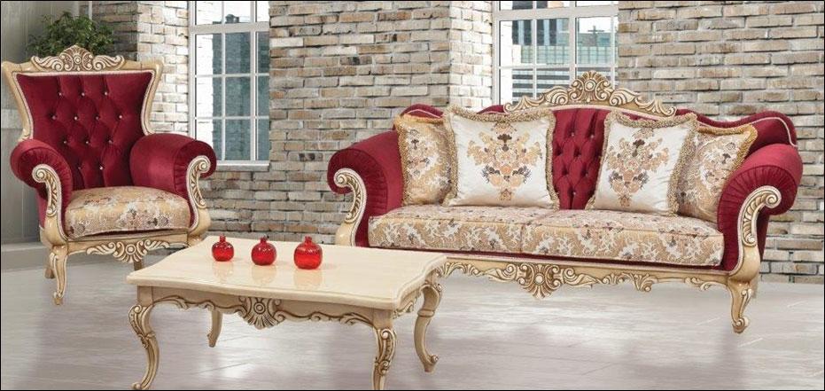 hurrem red sofa set living armonna furniture